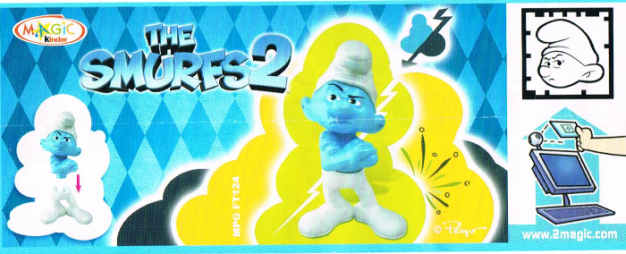 kinder Grouchy smurfs2 gb